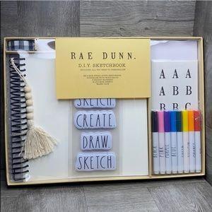Rae Dunn DIY sketchbook set NEW